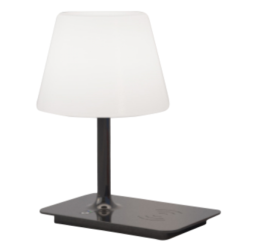 ETH Outdoor Indy tafellamp zwart oplaadbaar - 3 stappen dimbaar Overigen