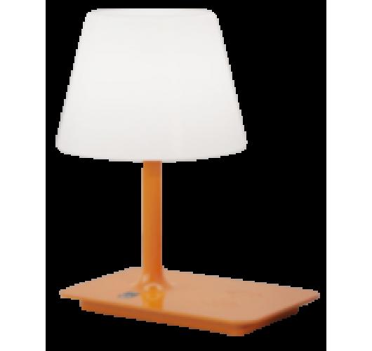 ETH Outdoor Indy tafellamp oranje oplaadbaar - 3 stappen dimbaar Overigen