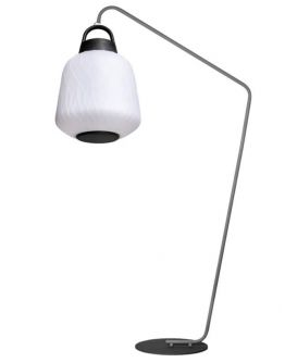 ETH Outdoor vloerlamp Joey Straight Speaker 3W RGB verlichting / Bluetooth speaker/ afstandsbediening