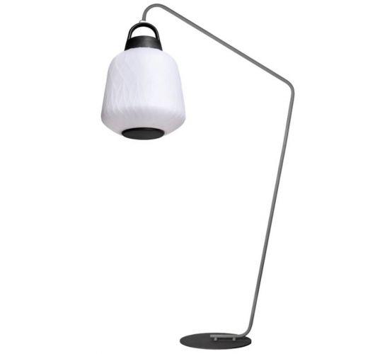 ETH Outdoor vloerlamp Joey Straight Speaker 3W RGB verlichting / Bluetooth speaker/ afstandsbediening Overigen
