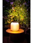 ETH Outdoor Flora Square Hang LED Solar - USB charging - remote Overigen