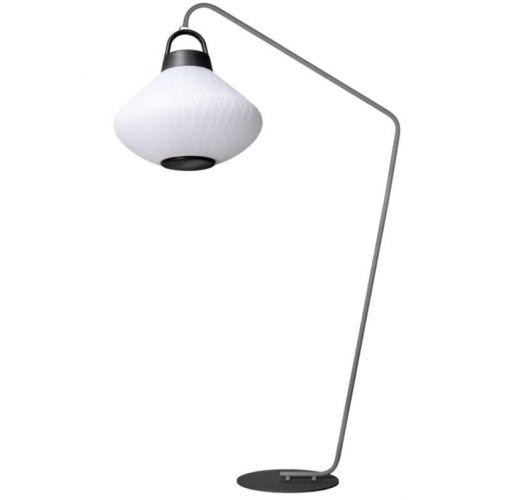 ETH Outdoor vloerlamp Joey Curved Speaker 3W RGB verlichting / Bluetooth speaker/ afstandsbediening Overigen