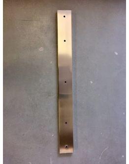 Plafondbalk 1200x90x25mm 5 Gaten Satin Staal
