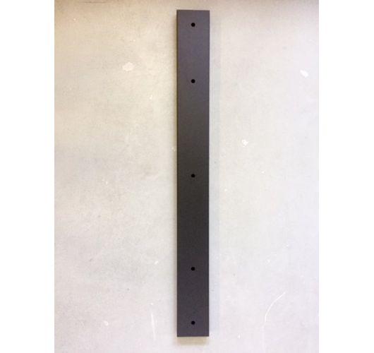 Plafondbalk 900x90x25mm 3 Gaten Mat Zwart Overigen