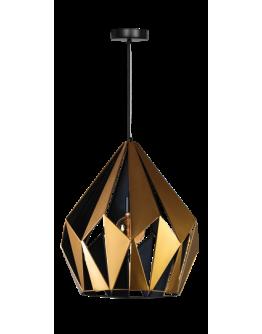 Rhomb - Goud / Zwart
