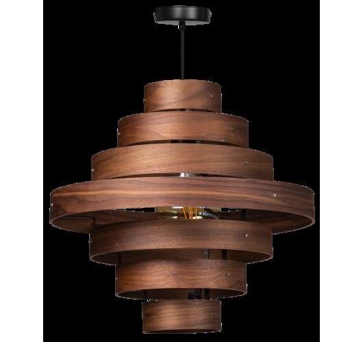 ETH Hanglamp Walnut | 7-rings Hanglampen