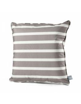 Extreme Lounging B-cushion Awning Stripe | Silver Grey