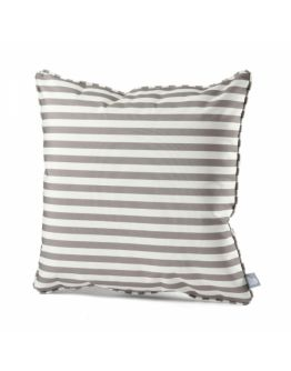 Extreme Lounging B-cushion Pencil Stripe | Silver Grey