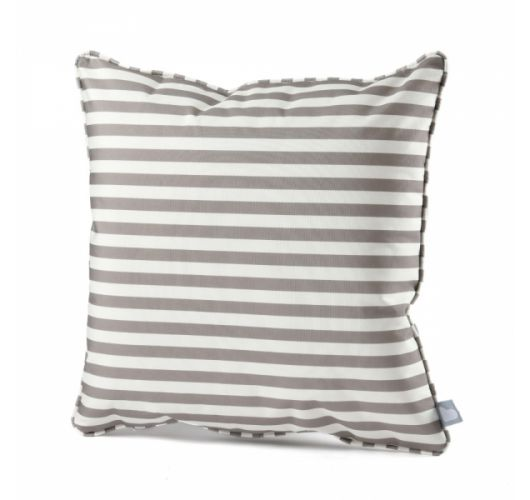 Extreme Lounging B-cushion Pencil Stripe | Silver Grey  Overigen
