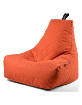 Extreme Lounging B-Bag Mighty-B Zitzak Quilted | Oranje
