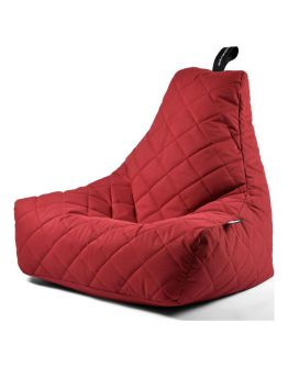 Extreme Lounging B-Bag Mighty-B Zitzak Quilted | Rood