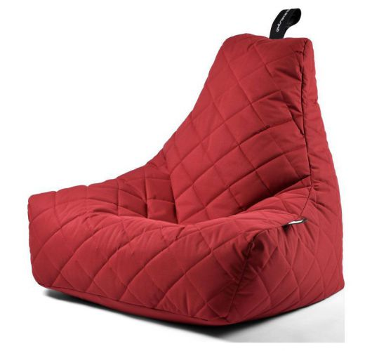 Extreme Lounging B-Bag Mighty-B Zitzak Quilted | Rood Overigen