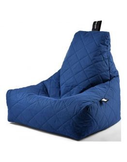 Extreme Lounging B-Bag Mighty-B Zitzak Quilted | Blauw