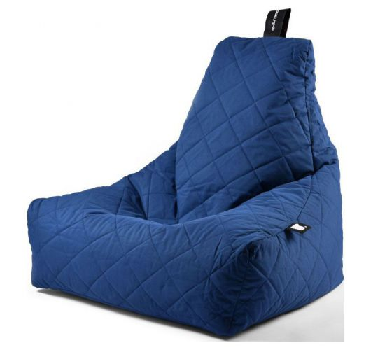 Extreme Lounging B-Bag Mighty-B Zitzak Quilted | Blauw Overigen