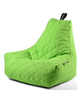 Extreme Lounging B-Bag Mighty-B Zitzak Quilted | Lime