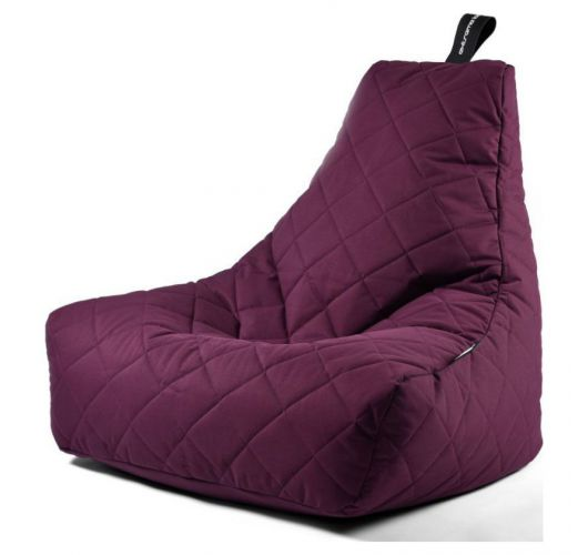 Extreme Lounging B-Bag Mighty-B Zitzak Quilted | Paars Overigen
