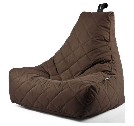 Extreme Lounging B-Bag Mighty-B Zitzak Quilted | Bruin Overigen