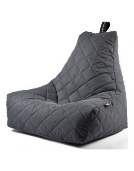 Extreme Lounging B-Bag Mighty-B Zitzak Quilted | Grijs