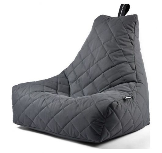 Extreme Lounging B-Bag Mighty-B Zitzak Quilted | Grijs Overigen