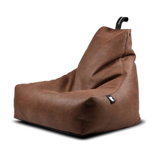 Extreme Lounging B-Bag Mighty-B Indoor Lederlook Chestnut Overigen