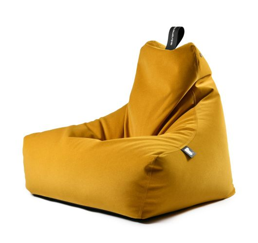 Extreme Lounging b-bag mighty-b Indoor | Suede Mustard Overigen