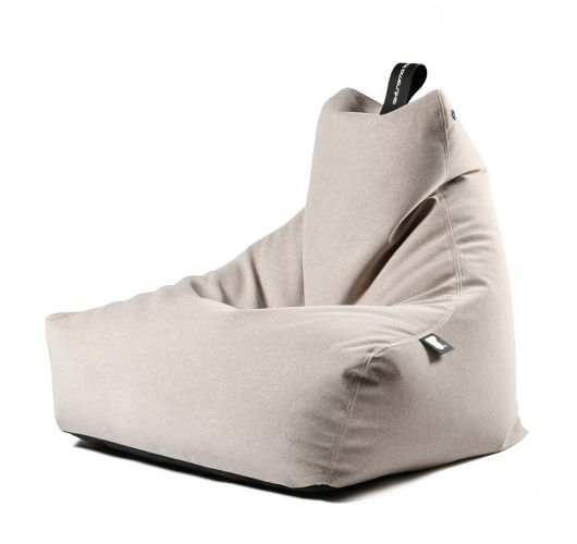Extreme Lounging b-bag mighty-b Indoor | Suede Stone Overigen