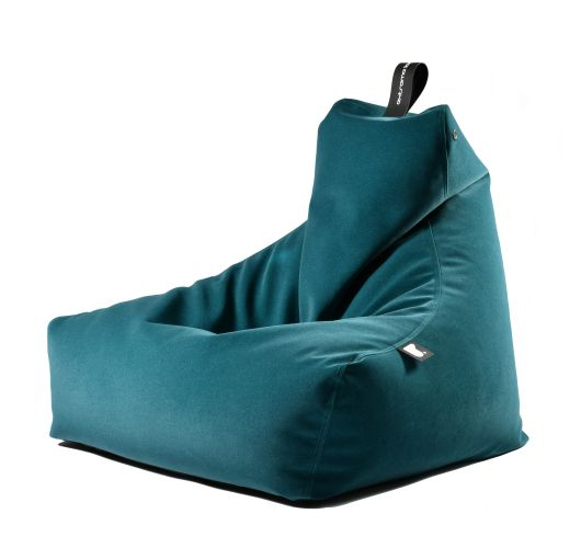 Extreme Lounging b-bag mighty-b Indoor | Suede Teal Overigen