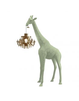 Qeeboo Giraffe in Love XS lamp - Warm Sand