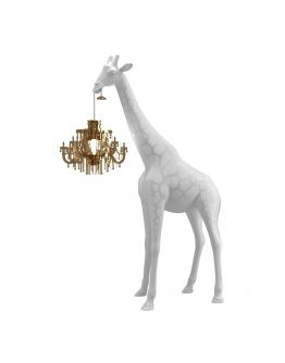 Qeeboo Giraffe in Love XS lamp - White