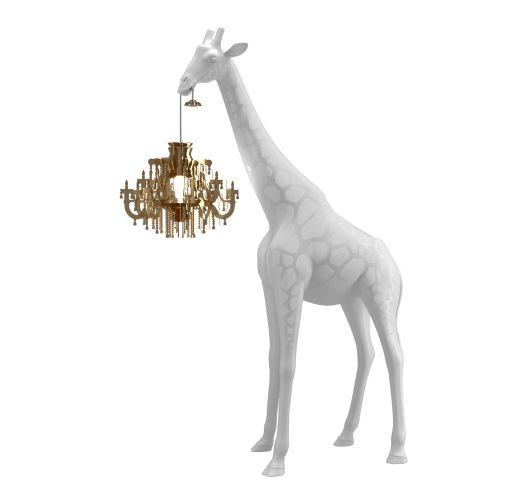 Qeeboo Giraffe in Love XS lamp - White Overigen