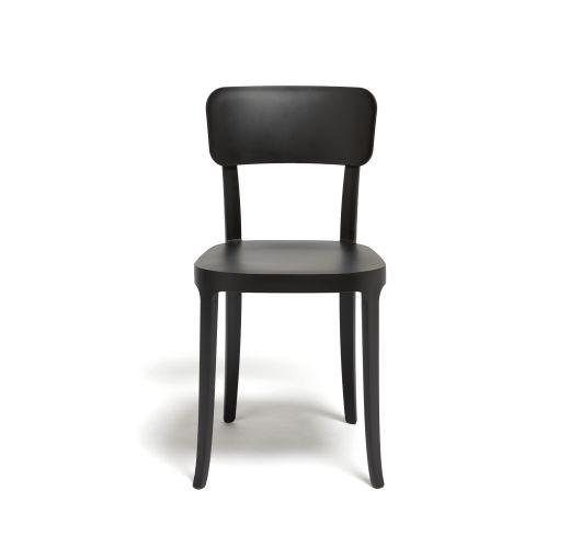 Qeeboo K. Chair Set van 2 stuks Zwart Overigen