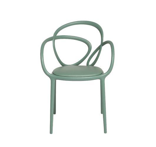 Qeeboo Loop Chair met kussen, set van 2 stuks - Groen Accessoires
