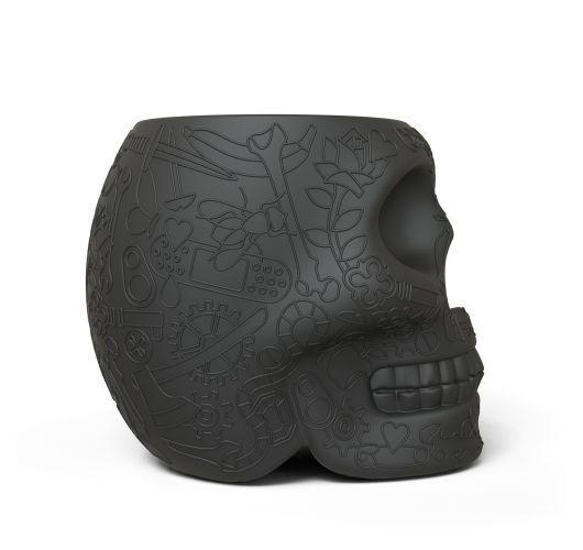 Qeeboo Mexico Kruk - Bijzettafel Black Overigen