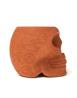 Qeeboo Mexico Kruk - Bijzettafel Terracotta