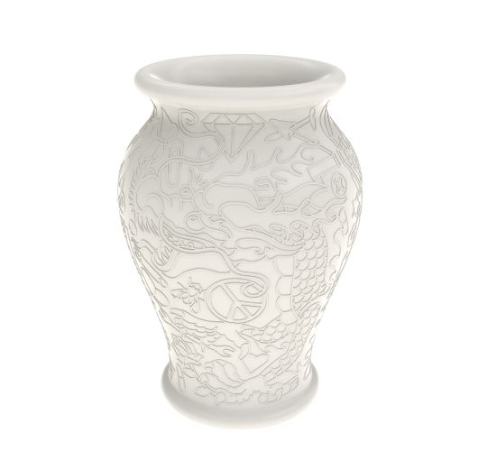 Qeeboo Ming Vase White Accessoires