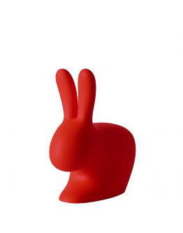 Qeeboo Rabbit Chair Baby Red