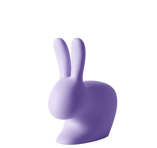 Qeeboo Rabbit Chair Baby Violet Accessoires