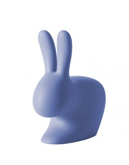 Qeeboo Rabbit Chair Light Blue