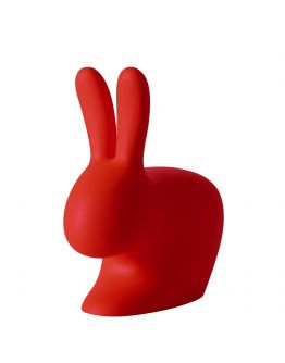 Qeeboo Rabbit Chair Red