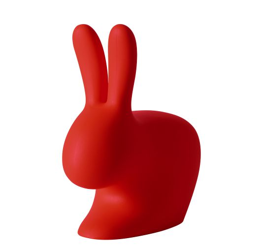 Qeeboo Rabbit Chair Red Accessoires