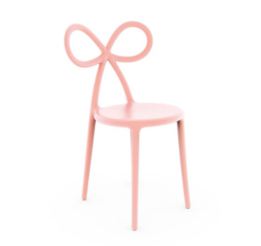 Qeeboo Ribbon Chair Pink Single