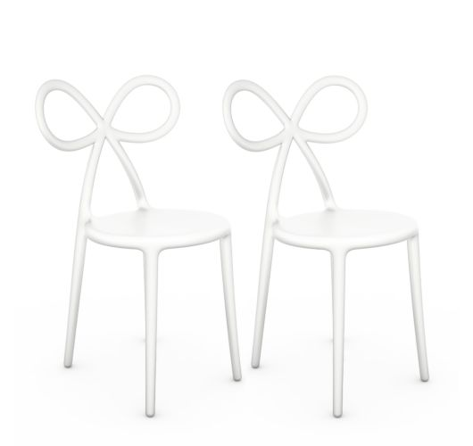Qeeboo Ribbon Chair White Set van 2 stuks Overigen