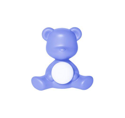 Qeeboo Teddy Girl LED lamp - Light Blue Tafellampen