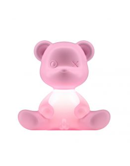 Qeeboo Teddy Boy lamp indoor plug - Bright Pink