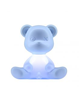 Qeeboo Teddy Boy lamp indoor plug - Light Blue