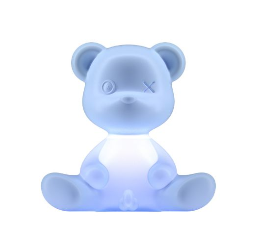 Qeeboo Teddy Boy lamp indoor plug - Light Blue Overigen