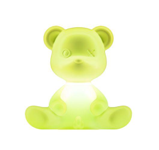 Qeeboo Teddy Boy lamp indoor plug - Light Green Overigen