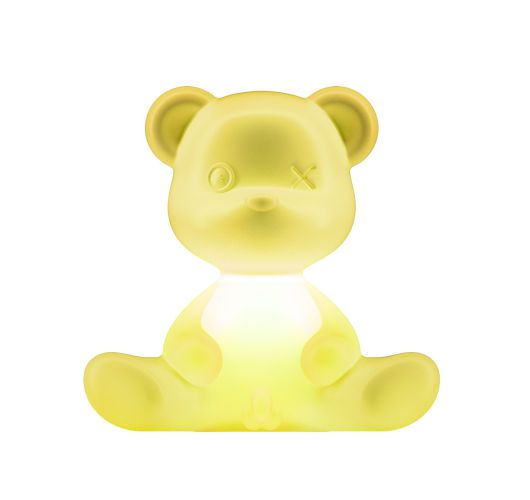 Qeeboo Teddy Boy lamp indoor plug - Lime Tafellampen