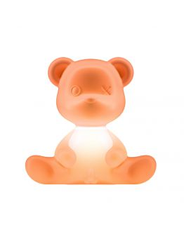 Qeeboo Teddy Boy lamp indoor plug - Orange