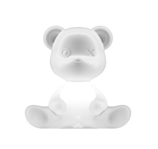Qeeboo Teddy Boy lamp indoor plug - White